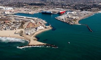 Aerial iamge of Port Hueneme